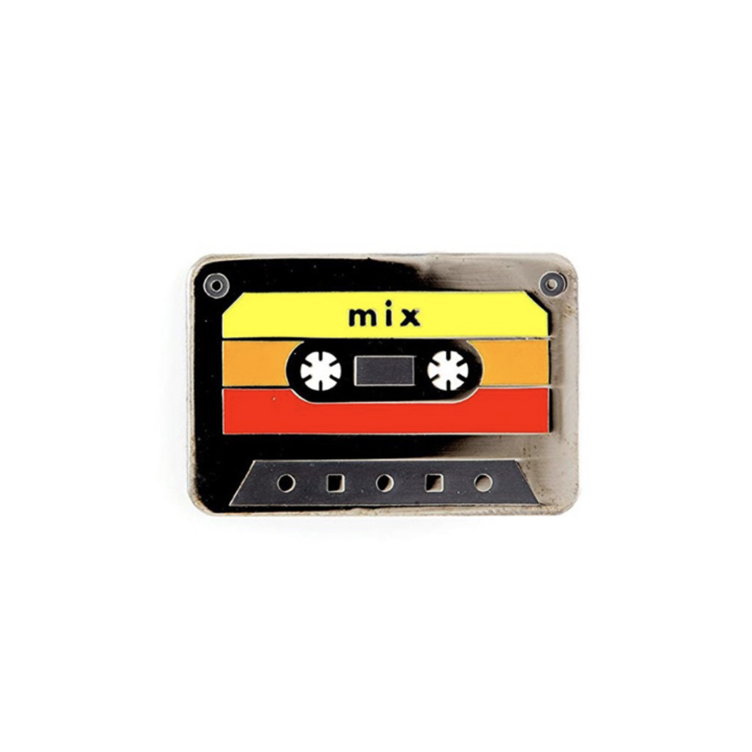 Smart Pins - Limited Edition Mix Tape Retro 80 Enamel Pin Badge Brooch