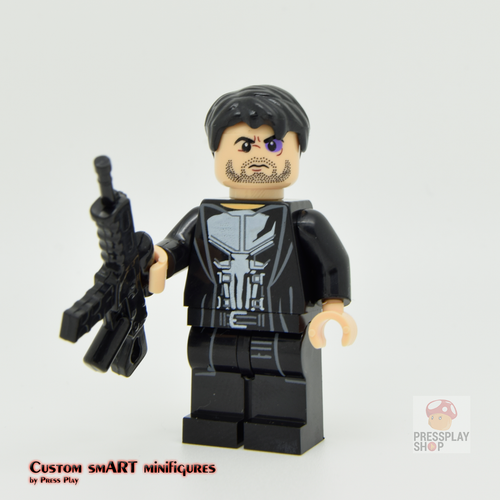 Custom Minifigure - based on the character from The Punisher