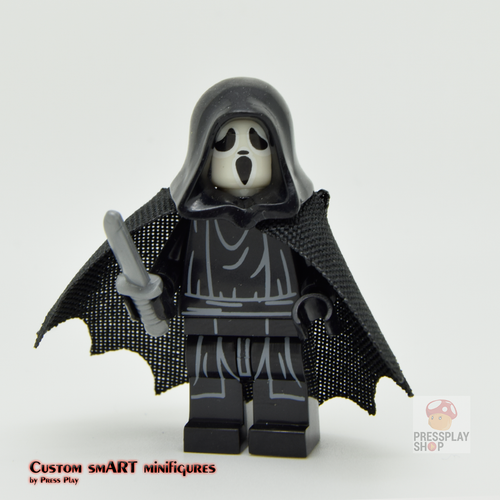 Custom Minifigure - based on the character from Scream