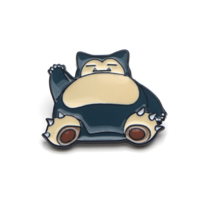 Smart Pins - Snorlax  Pin Badge