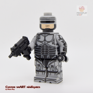 Custom Minifigure - based on the character of Robocop