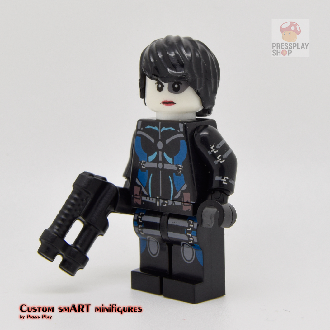 Custom Minifigure - based on the character of Domino