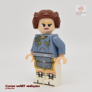 Custom Minifigure - based on the character from Street Fighter - Chun Li