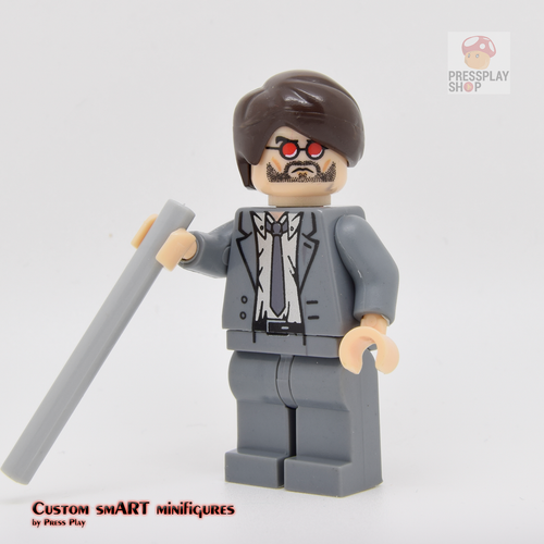 Custom Minifigure - based on the character of Daredevil - Matt Murdock