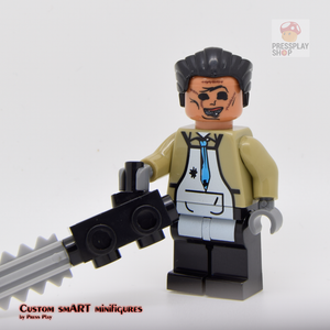 Custom Minifigure - based on the character of Leatherface