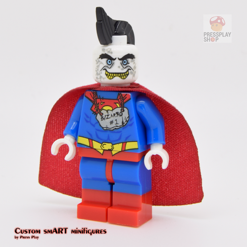 Custom Minifigure - based on the character Bizarro