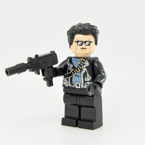 Minifigure - based on the character Terminator