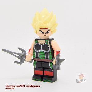 Custom Minifigure - based on the character Bardock