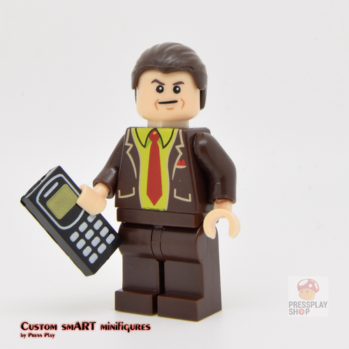 Custom Minifigure - based on the character Better Call Saul