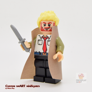 Custom Minifigure - based on the character Constantine