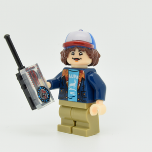 Custom Minifigure - based on the character Dustin V2 - Stranger Things