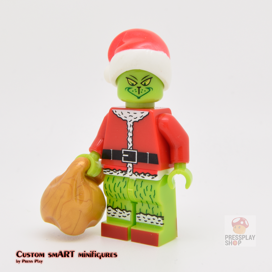 Custom Minifigure - based on the character Grinch
