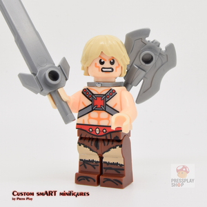Custom Minifigure - based on the character He-Man