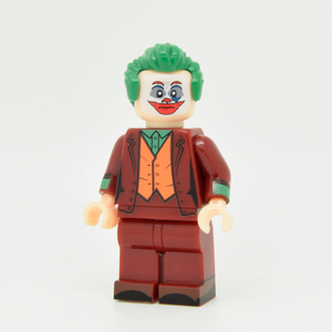 Custom Minifigure - based on the character The Joker (Joaquin Phoenix)V2