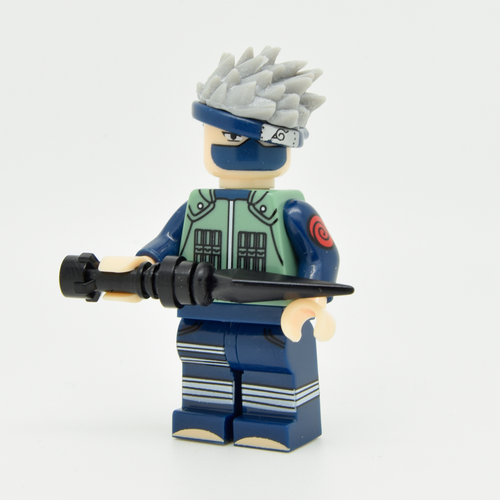 Custom Minifigure - based on the character of Kakashi Hatake - Naruto