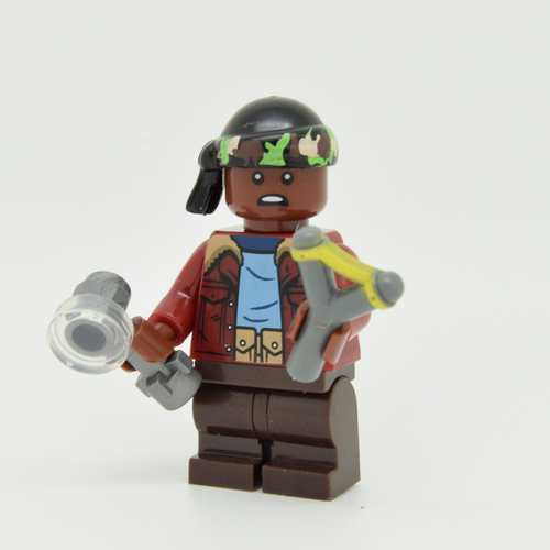 Custom Minifigure - based on the character Lucas Sinclair - Stranger Things