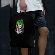 Load image into Gallery viewer, Backpack - Joker Prince of all Sayan's by Zaalunna