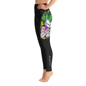 Yoga Leggings - Joker Prince of all Sayan's by Zaalunna