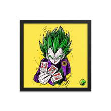 Load image into Gallery viewer, Framed poster - Joker Prince of all Sayan's by Zaalunna