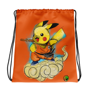 Drawstring bag -  Pika Goku by Zaalunna