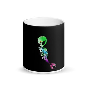 Matte Black Magic Mug - Zaalunna