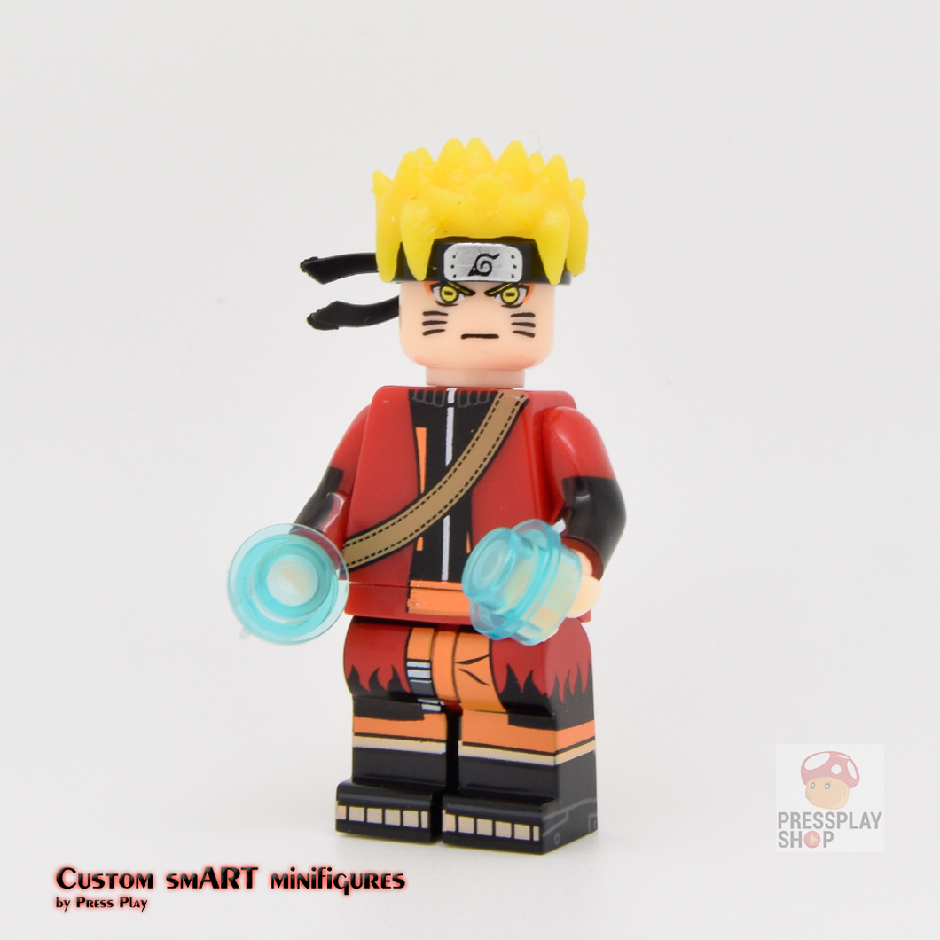 Custom Minifigure - based on the character of Naruto