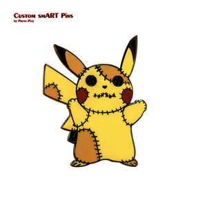 Smart Pins - Voodoo Pikachu Pin Badge