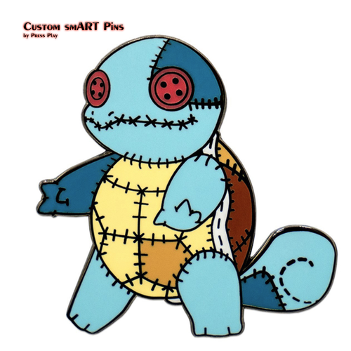 Smart Pins - Voodoo Squirtle Pin Badge
