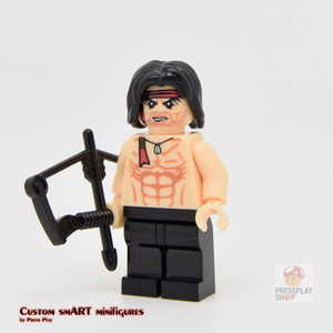 Custom Minifigure - based on the character from John Rambo
