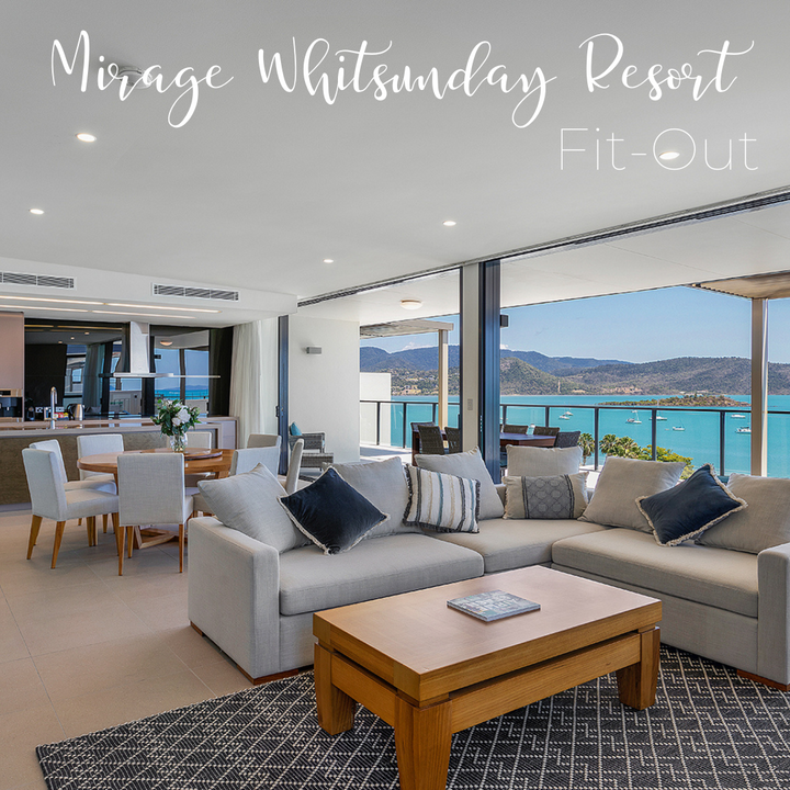 Hotel Fit Out at Mirage Whitsunday Resort