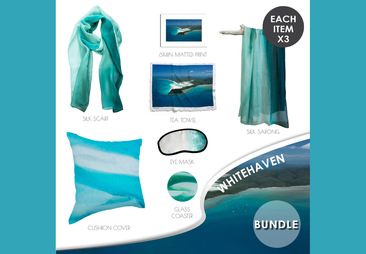 Wholesale Whitehaven Beach Bundle