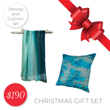 Gift Set - Cushion and Sarong