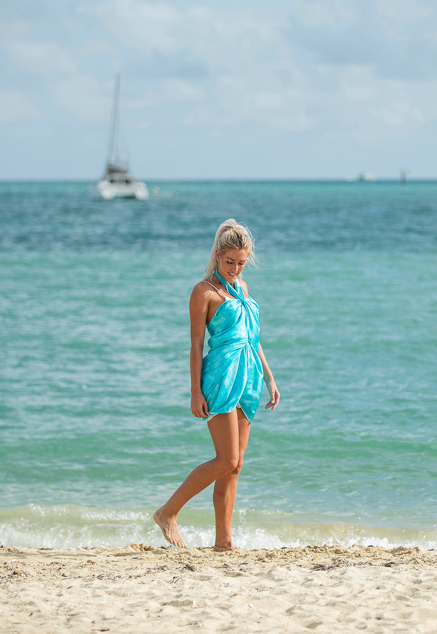 Silk Sarong Crystal Beach Image 2