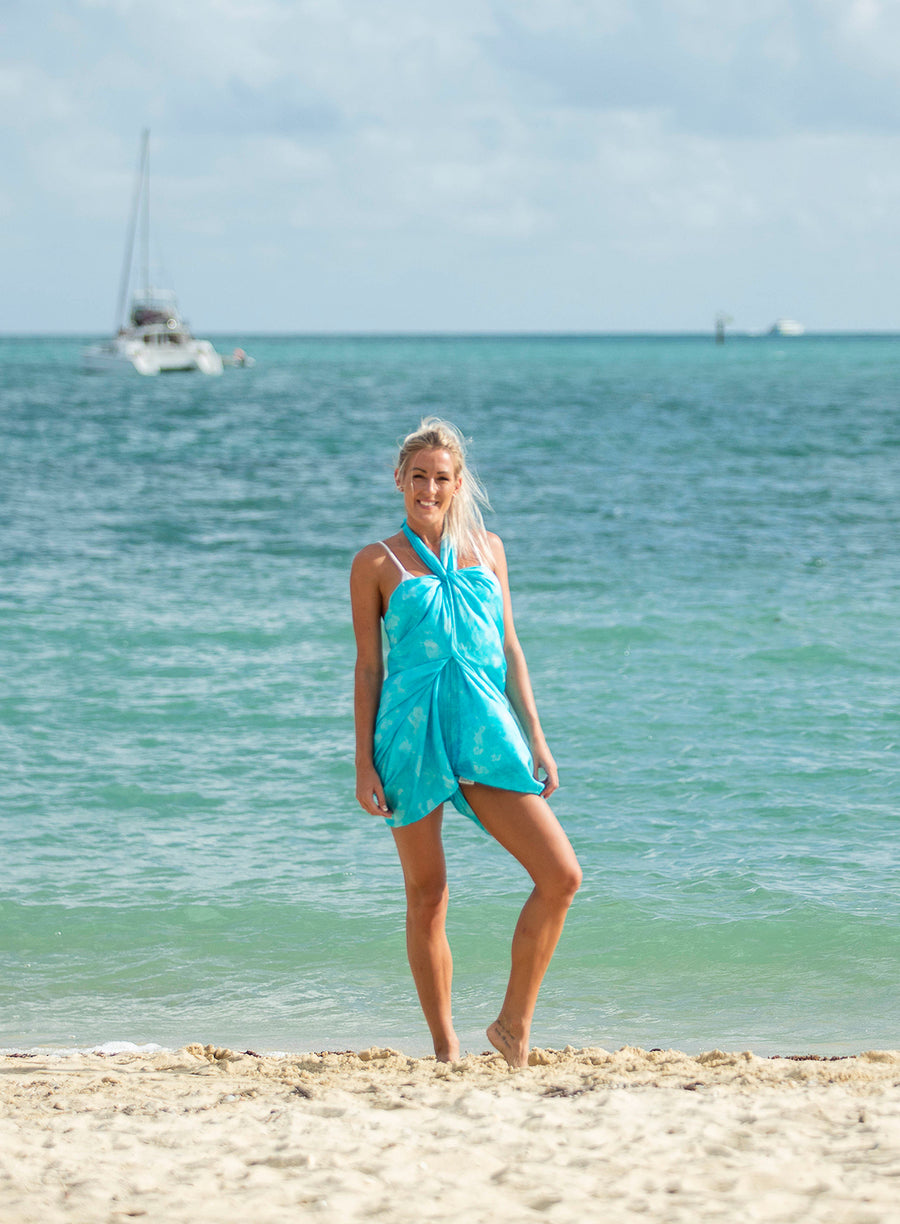 Silk Sarong Crystal Beach