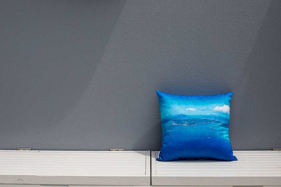 Cushion Cover Island Bliss Print image 1