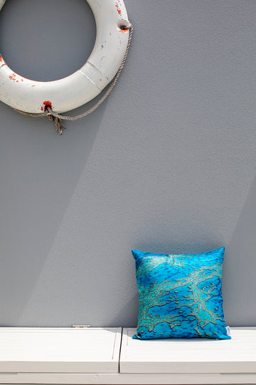 Cushion Cover - Great Barrier Reef Print