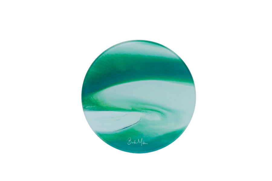 Round Glass Photo Coaster Hill Inlet Wholesale