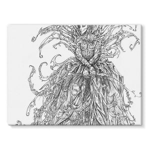 Lady Brambles Stretched Eco-Canvas