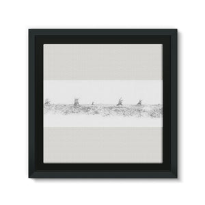 Pastoral Landscape Framed Eco-Canvas