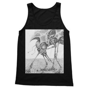 Giant Alien Bug Softstyle Tank Top