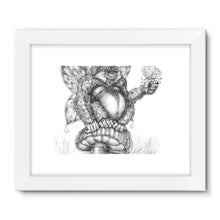 Load image into Gallery viewer, Pickles (The Fairy-Gorilla) Framed Fine Art Print