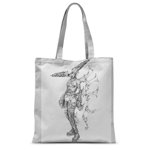Tesla  Sublimation Tote Bag