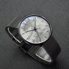"Load image into Gallery viewer, ""Flying Laser"" Art Watch - 30 Meters Waterproof Quartz Fashion Watch With Casual Stainless Steel Band"