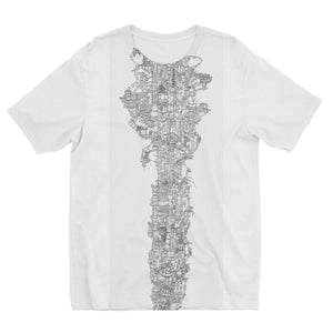 Space Elevator Kids' Sublimation T-Shirt