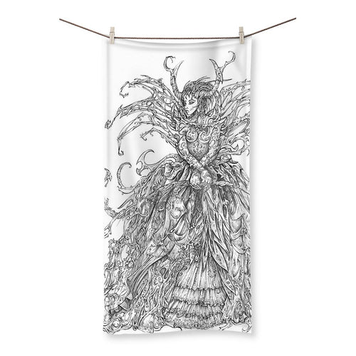 Lady Brambles Beach Towel