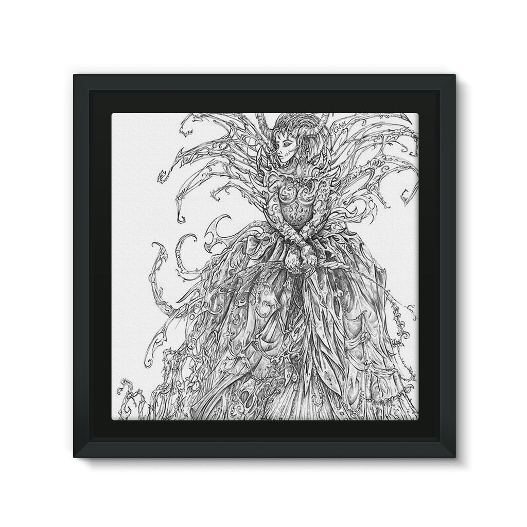 Lady Brambles Framed Eco-Canvas
