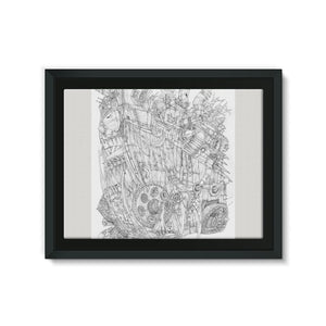 Rumble-Tank Framed Eco-Canvas