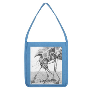 Giant Alien Bug Tote Bag