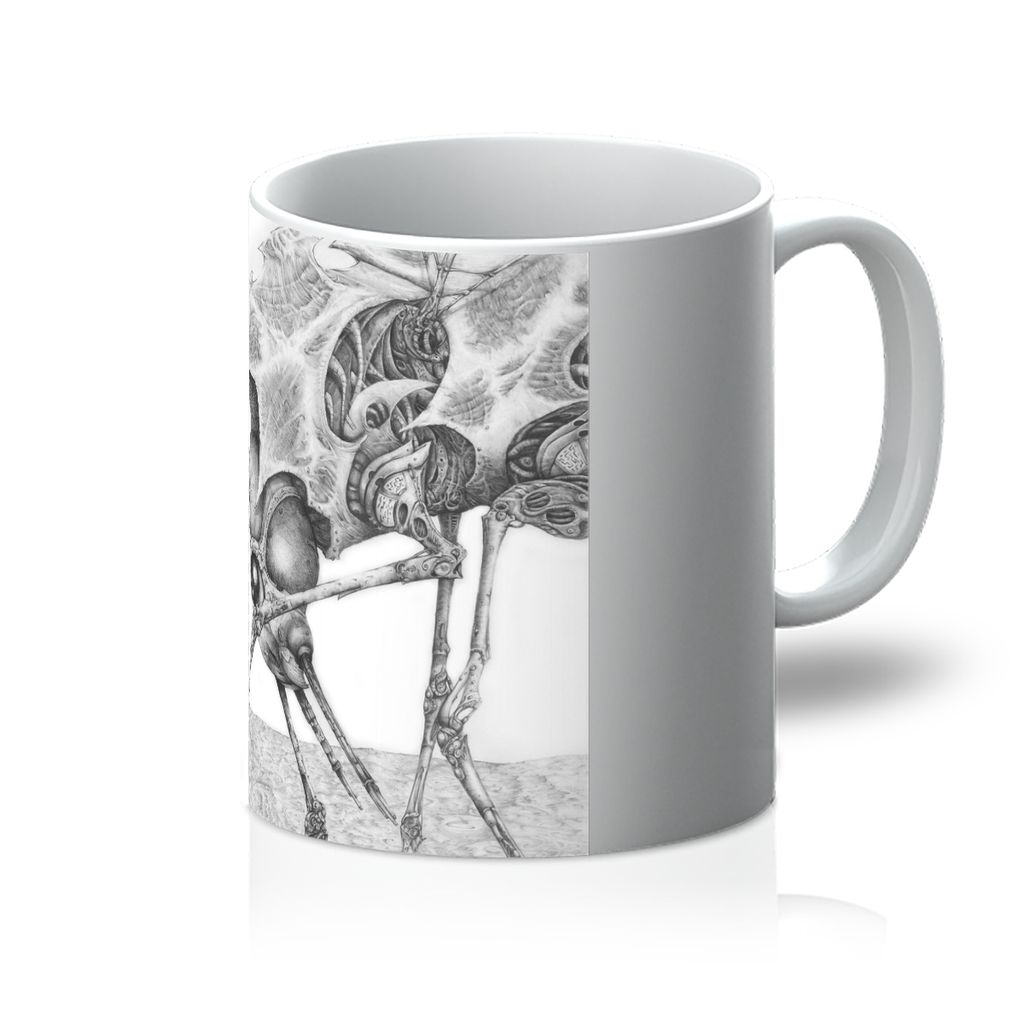 Giant Alien Bug Mug