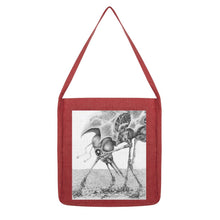 Load image into Gallery viewer, Giant Alien Bug Tote Bag